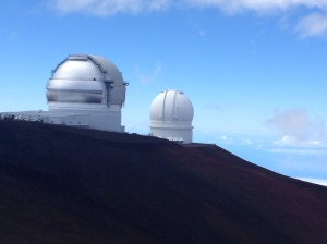 Telescopes on Mauna Kea