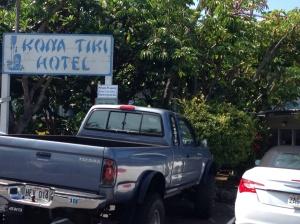Kona Tiki Hotel, Kona