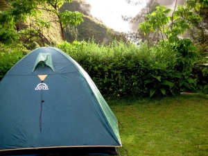 First campsite - Wayllabamba