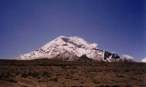 Chimborazo  http://commons.m.wikimedia.org/wiki/User:Gerd_Breitenbach
