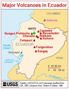 Volcanoes of Ecuador