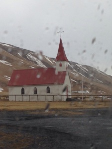 One of the many churches dotting the Icelandic landscape