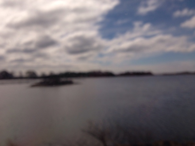 View from the Acela Express - on the way to Boston