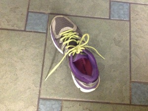 Tempting fate - the untied shoelace