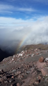 Descent down Cayambe - photo by Oswaldo Freire