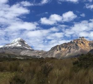 The Illiniza Peaks