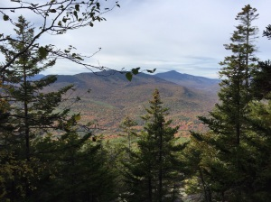 Mount Washington in the distance