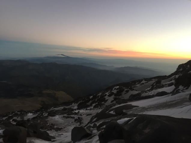 Sunrise over Orizaba