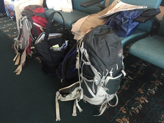 The faithful backpacks